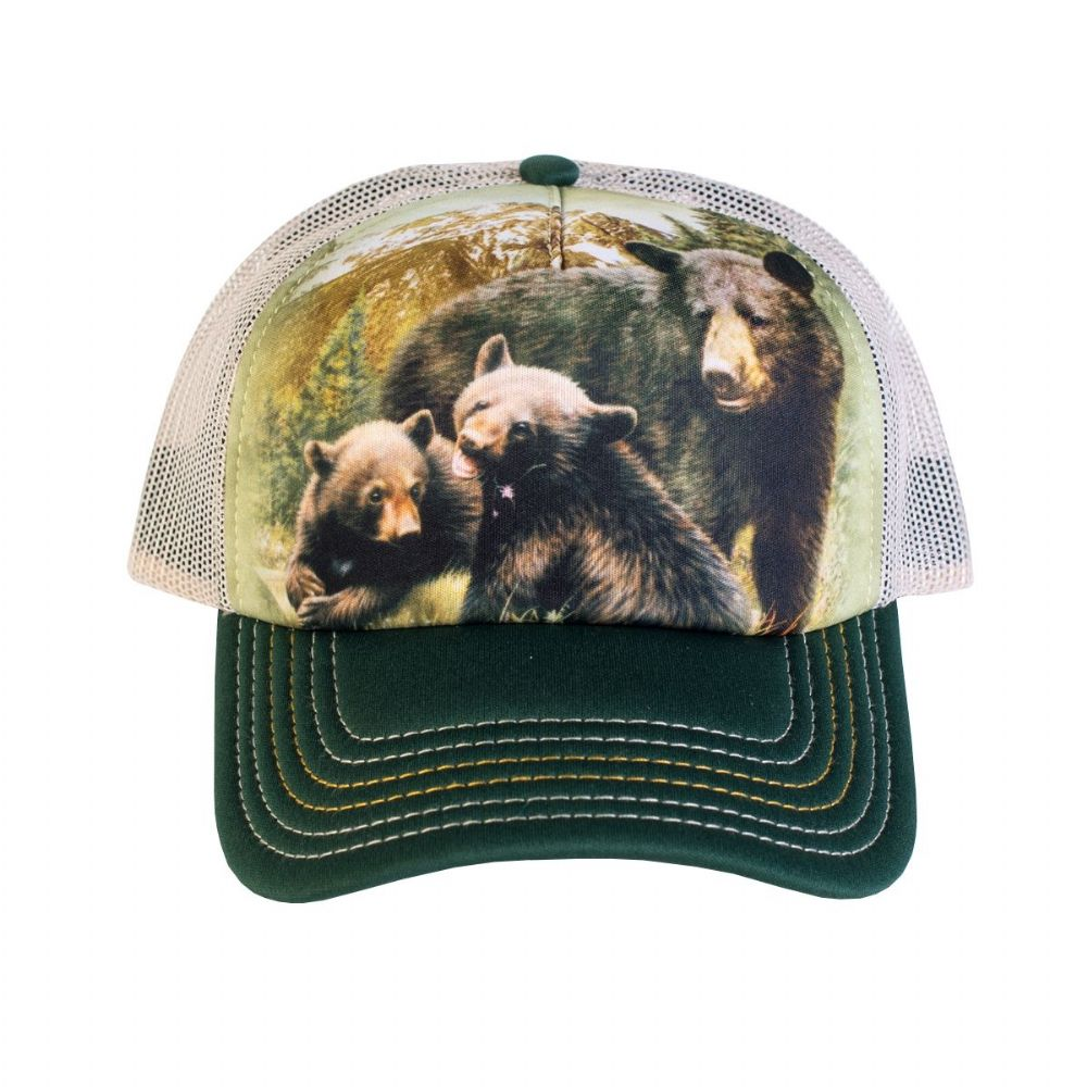 Black Bear Family Trucker Cap - The Mountain®